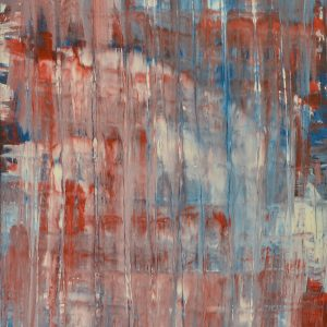 Colour corrosion - an abstract work with flowing colours - Tears