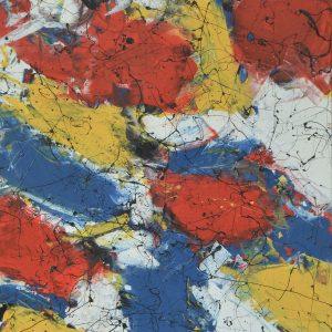 Colour corrosion - when two Goliaths meet, this is what happens - Mondriaan Meets Richter IV