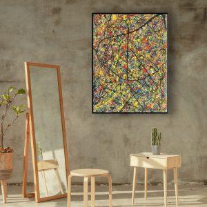 Drip art - veelvuldig gebruik van kleuren - sprookjes