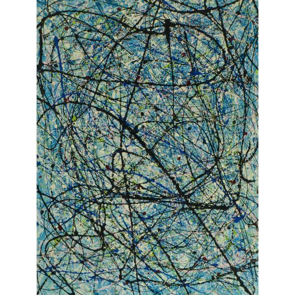 drip art modern schilderij