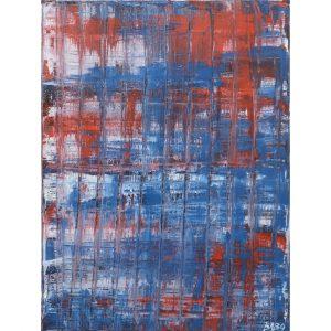 Colourfield schilderij