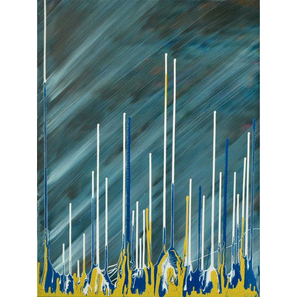Abstract schilderij Achterhoek