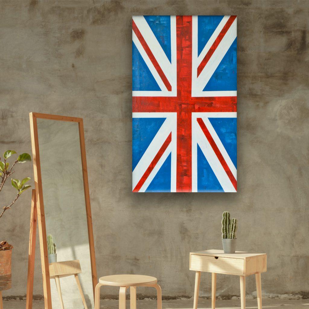 union jack modern art