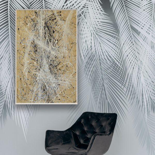moderne kunst interieur