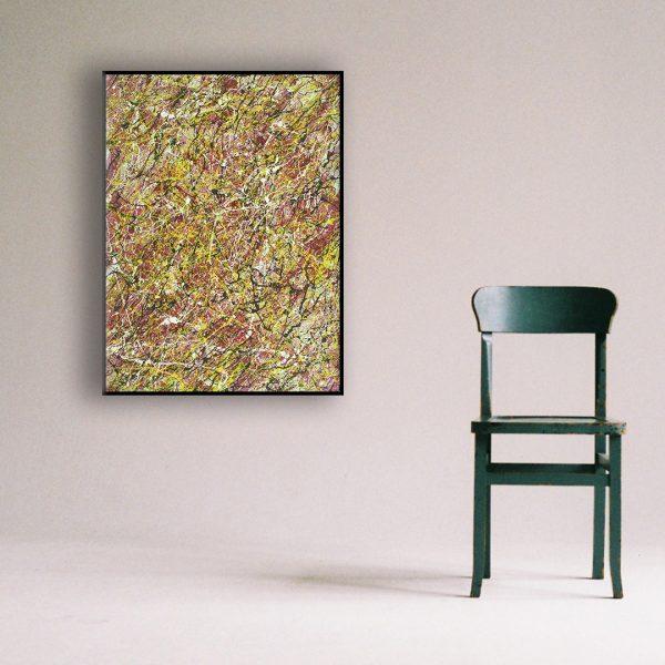 dynamische moderne schilderijen