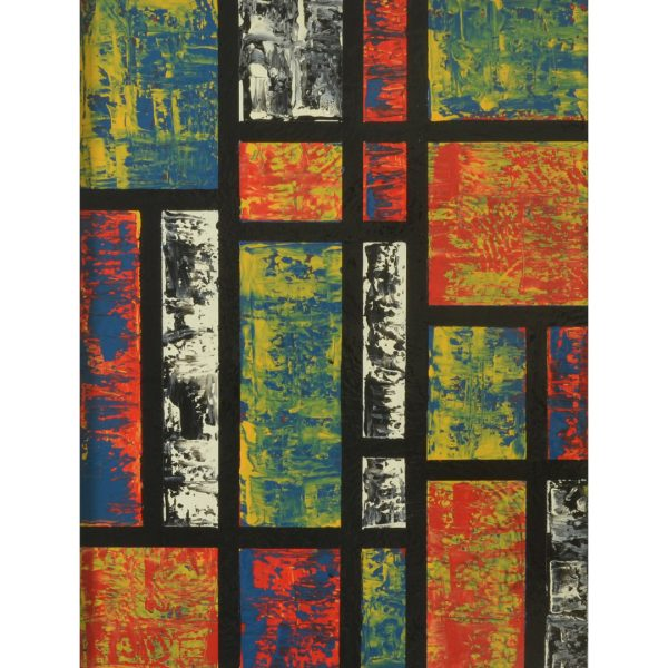 Hybrids - colourful combination of mdern styles -m Mondriaan meets Richter II