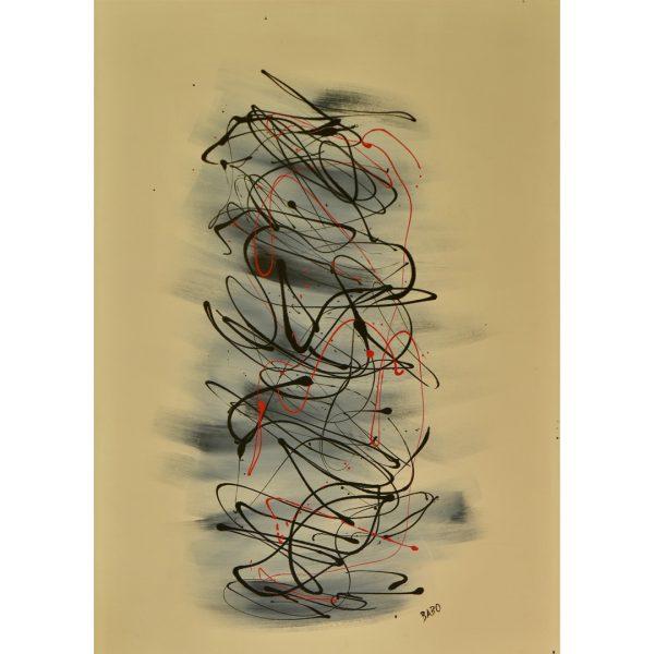 Shgon - drip art - oriental work
