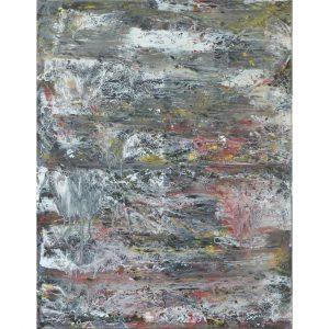 Abstract schilderij in de Lingewaard