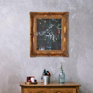 expressionistisch schilderij
