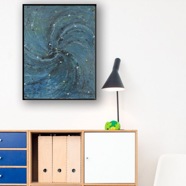 combination of art and astronomy
