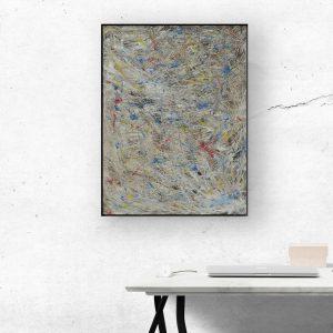 Unieke abstracte kunst