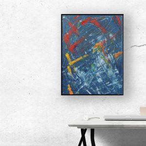 abstracte schilderijen ook in opdracht