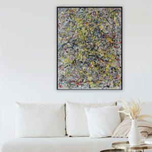 abstracte kunstwerken