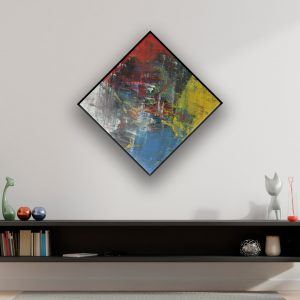 kleurrijke abstracte kunst