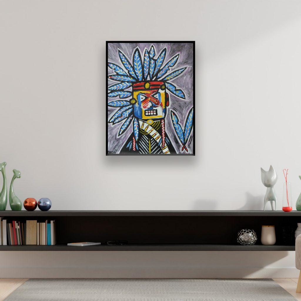 Neo-expressionist-art